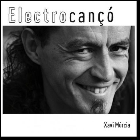 Caràtula CD Electrocançó Xavi Múrcia
