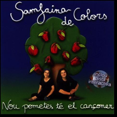 Caràtula-CD-Nou-pometes-té-el-cançoner-Samfaina-de-Colors