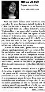 Espero meravelles-Caramella-Mirna Vilasís