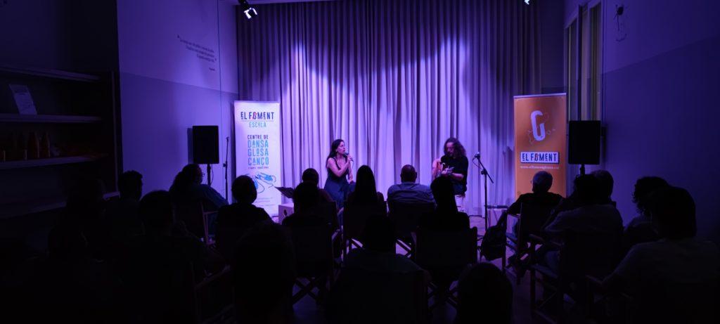 Mirna Vilasís i Xavi Múrcia interpreten 'Espero meravelles' de Montserrat Abelló al concert de El Foment